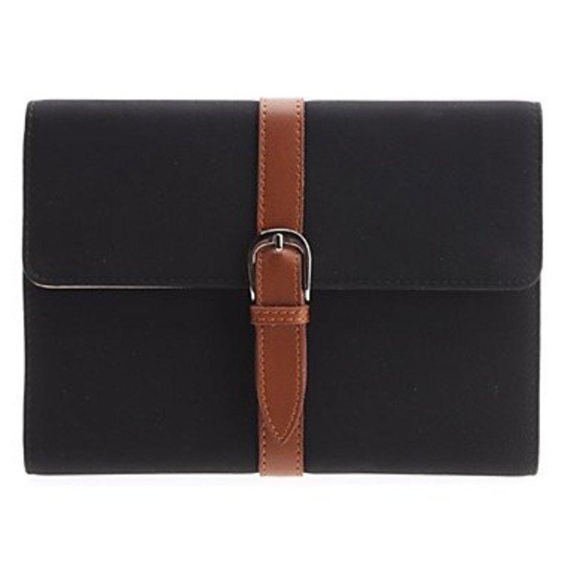 J&S Supply Luxe PU Lederen Case met Riem voor de iPad Mini