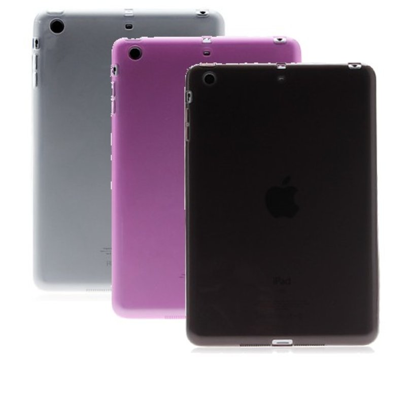 J&S Supply Transparante TPU Hoes Case voor iPad Mini