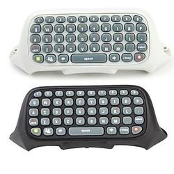 Toetsenbord voor de xbox 360 controller zwart en wit