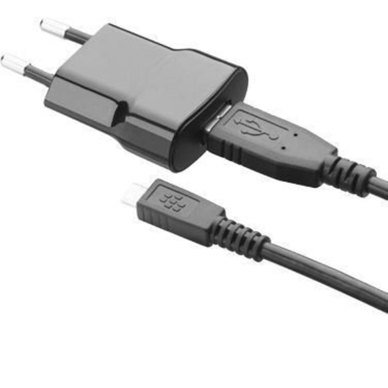 Slim charger Micro USB ACC-39501-201 voor de Blackberry
