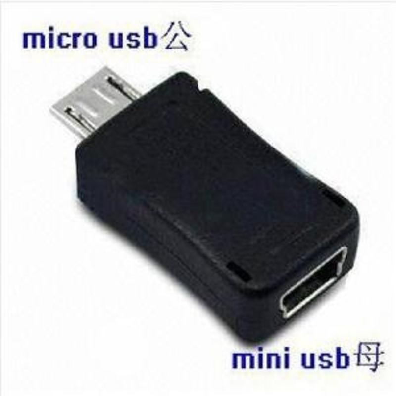 J&S Supply Adapter van Micro USB naar Mini USB