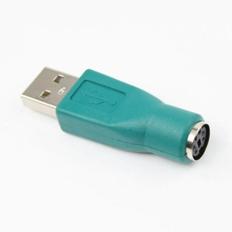 J&S Supply Adapter van PS/2 Vrouwelijk naar USB