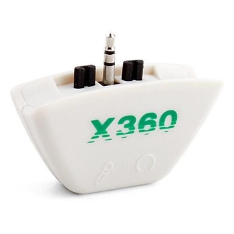 J&S Supply Headset microfoon converter voor Xbox 360