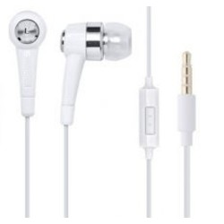 J&S Supply Stereo Headset 3.5mm Wit voor Samsung