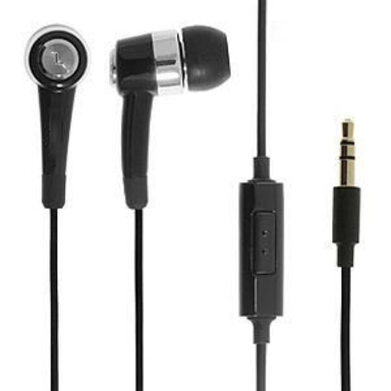 Stereo Headset 3.5mm Zwart voor de Samsung