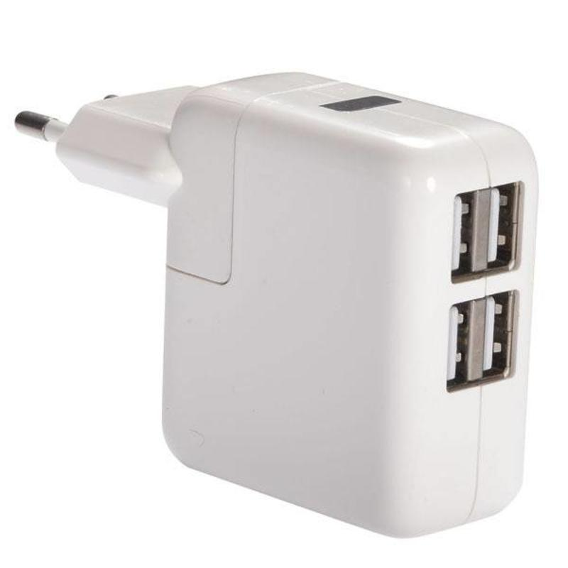 USB Adapter / Lader 4 Poort