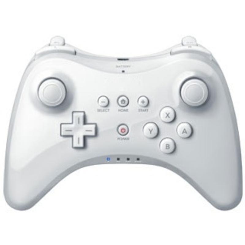 Controller Joystick Wit voor de Nintendo Wii U Pro