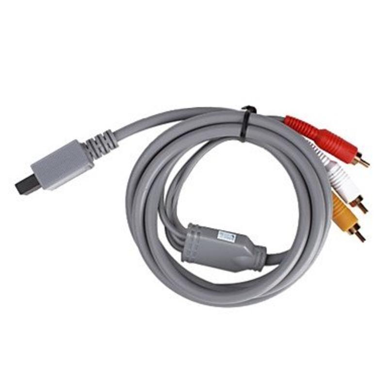 J&S Supply AVS-videokabel voor Nintendo Wii / Wii U (2m)