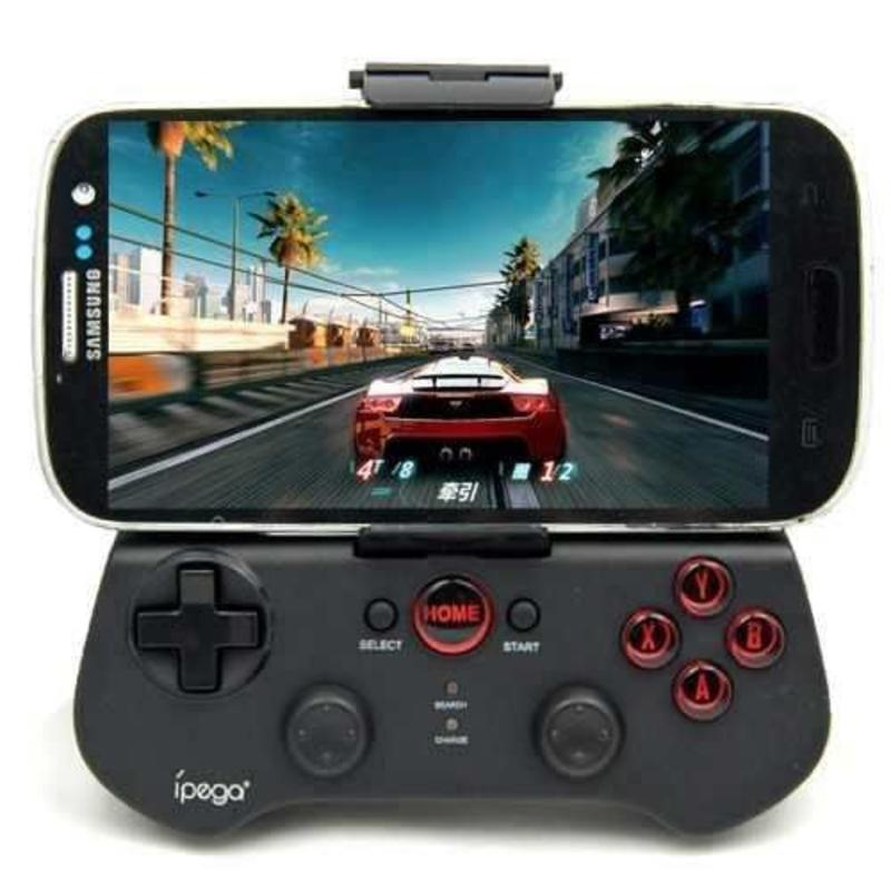 J&S Supply iPega Controller voor Android, iOS, Windows en Tablets - Zwart / Wit