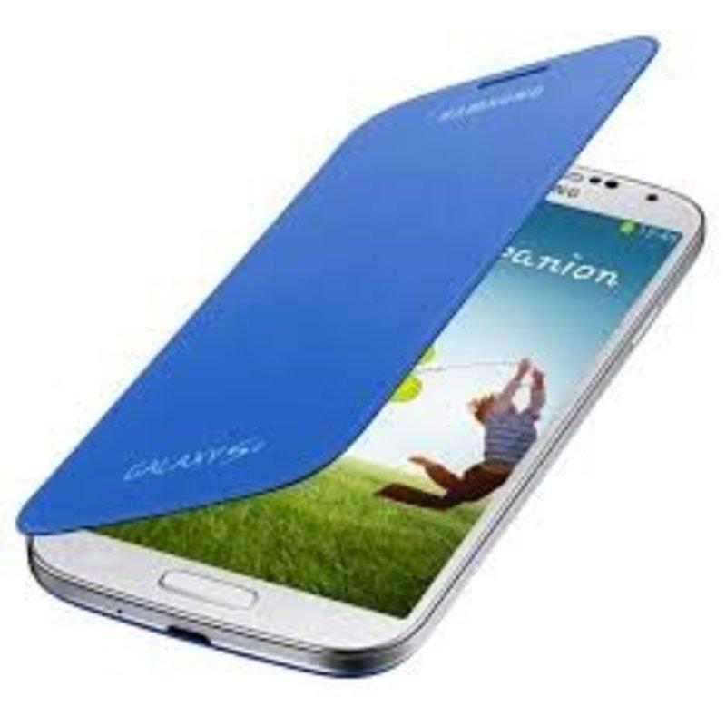 J&S Supply Samsung Flip Cover voor de Galaxy S4 - Blauw