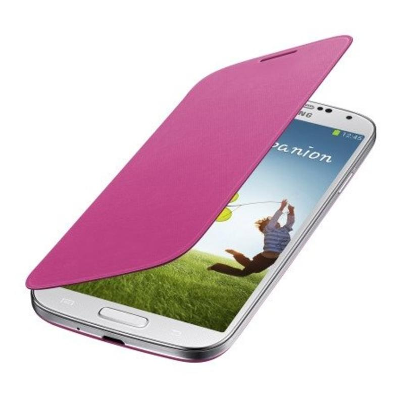 J&S Supply Samsung Flip Cover voor de Galaxy S4 - Roze