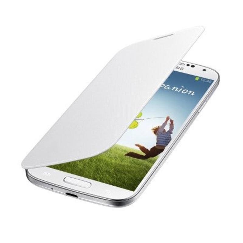 J&S Supply Samsung Flip Cover voor de Galaxy S4 - Wit