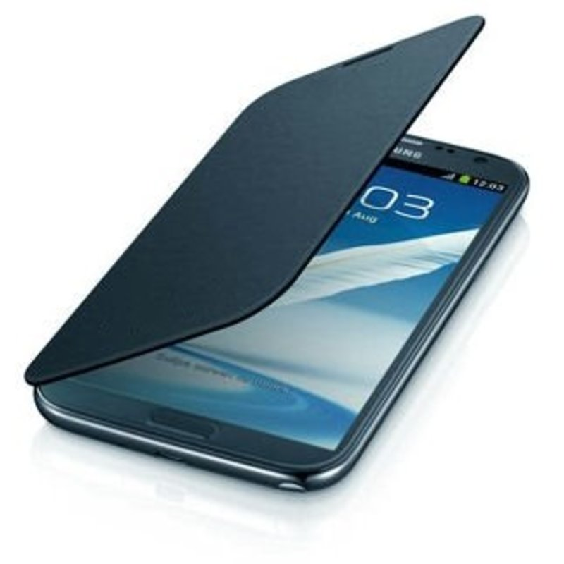 J&S Supply Samsung Flip Cover voor de Note 2 N7100 - Blauw