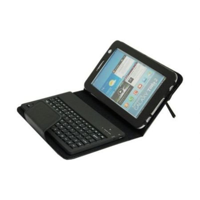 Toetsenbord voor Galaxy Tab 2 7 inch wit/zwart
