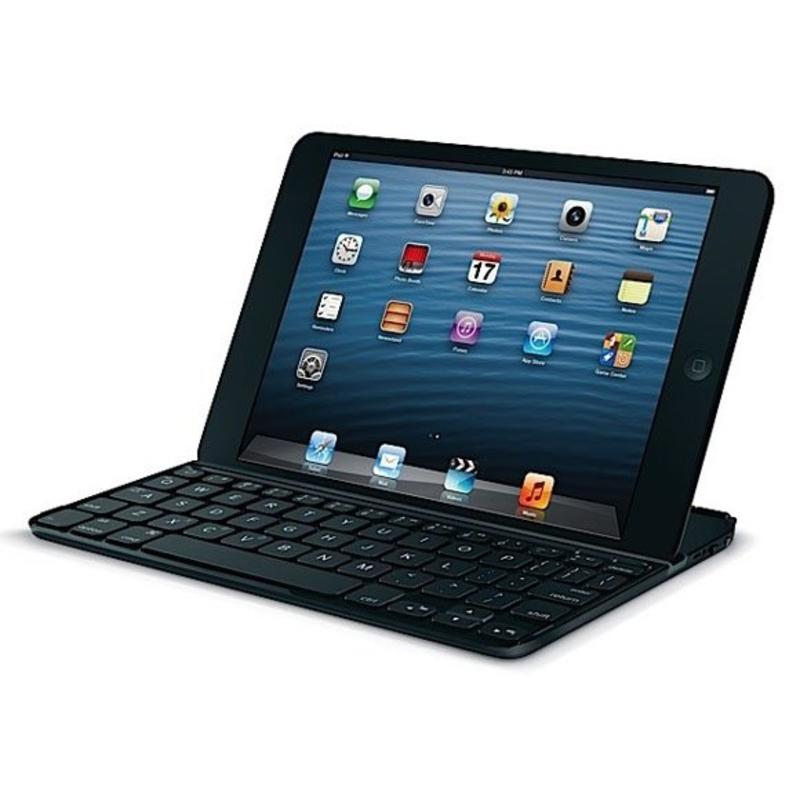 J&S Supply Toetsenbord Case aluminium Wit en Zwart voor iPad Mini