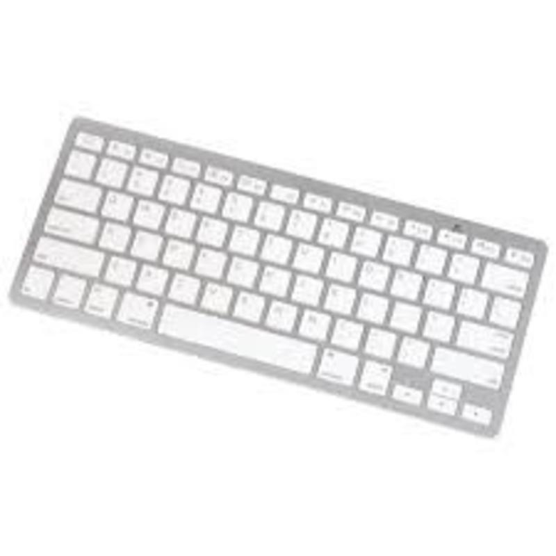 J&S Supply Draadloos Bluetooth Toetsenbord Arabisch/Latijns