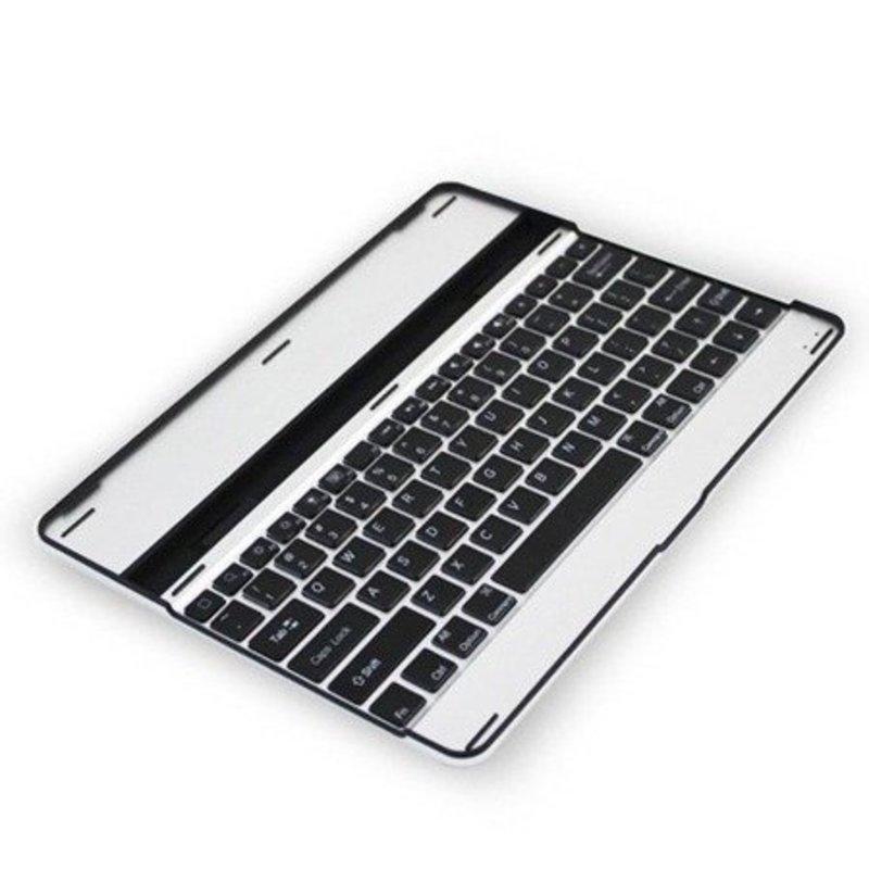 iPad 2, 3 en 4 Toetsenbord Case aluminium Wit en Zwart