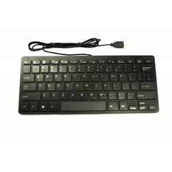 J&S Supply Mini Toetsenbord met Draad Zwart
