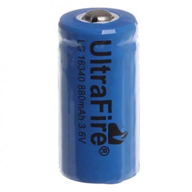 2 x 16340 Batterij