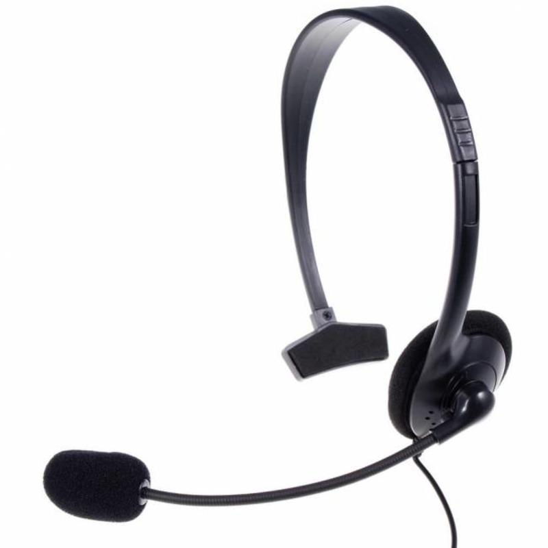 J&S Supply Gaming headset mono voor PS4