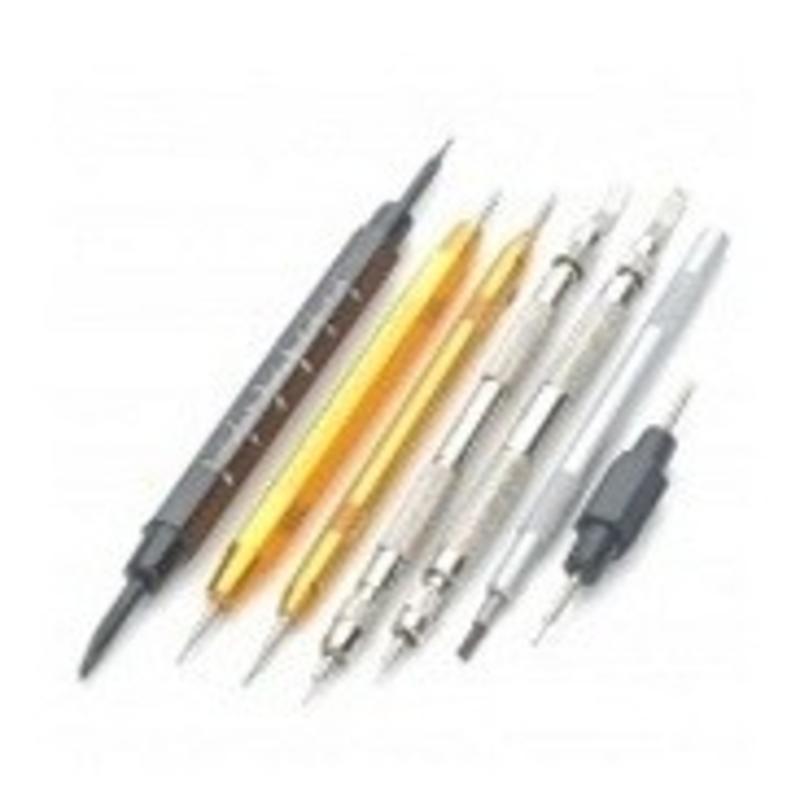 Horloge reparatie set: 7x dubbelzijdige tools