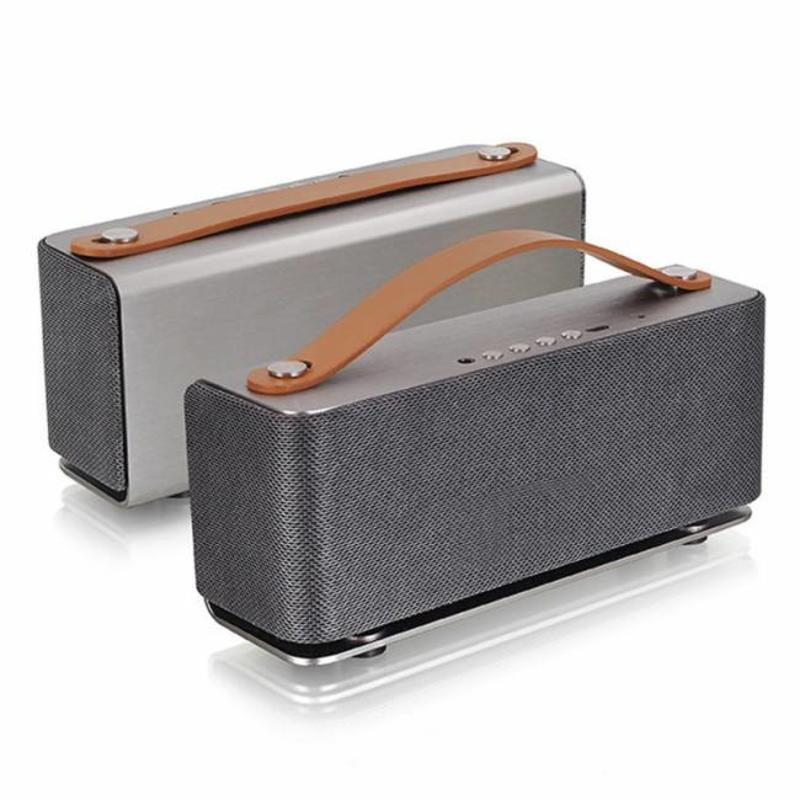 J&S Supply Bluetooth Speaker grijs/blauw