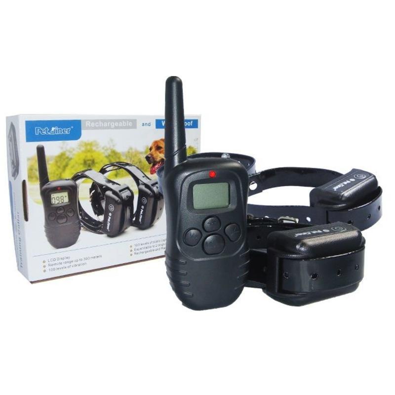 Wellturn Trainingshalsband 2 honden elektrisch/Vibratie