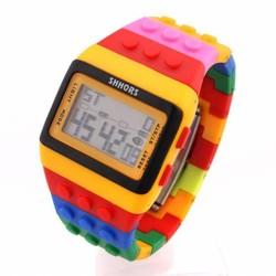 J&S Supply LED horloge blokjes