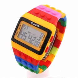J&S Supply LED horloge lego