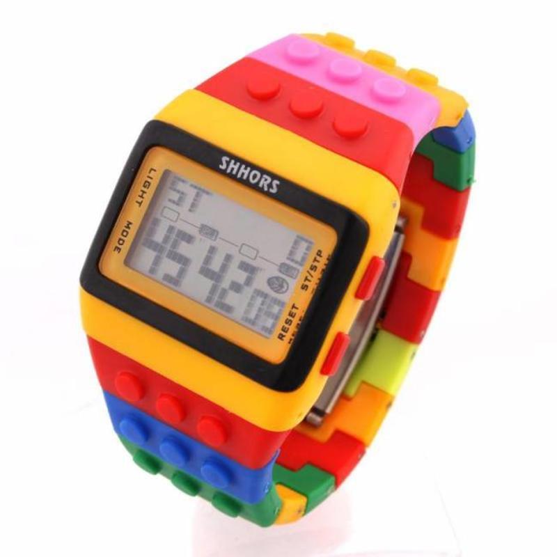 LED horloge blokjes