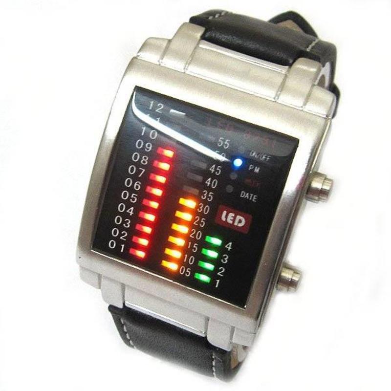 LED horloge bright