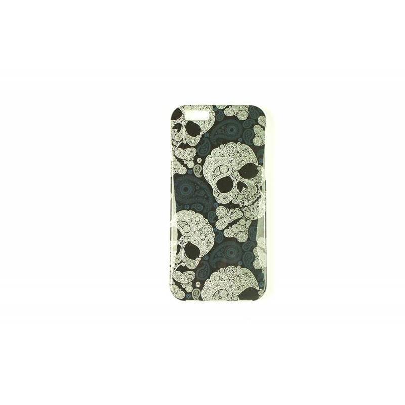 J&S Supply Bloemen Doodskop iPhone 6 cover
