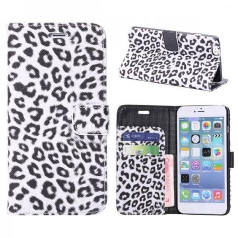 J&S Supply iPhone 6 luipaard flip cover
