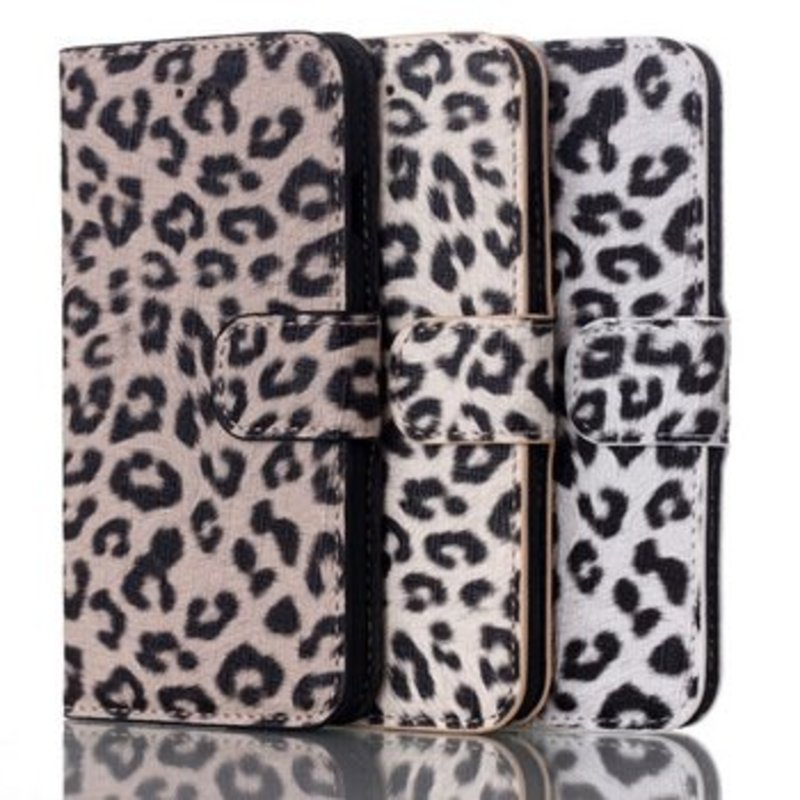 Luipaard iPhone 6 Plus flip cover