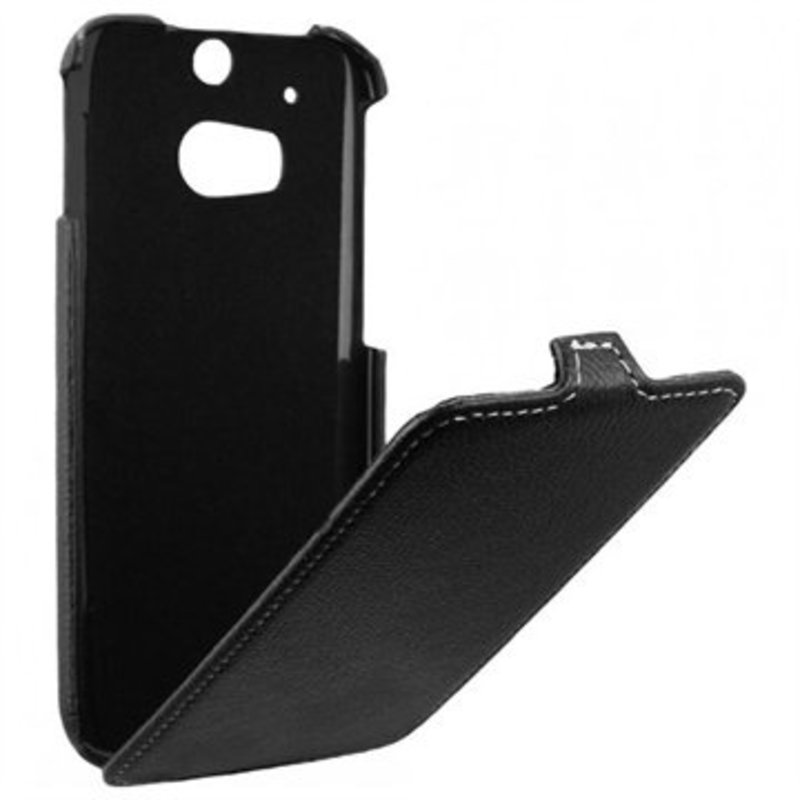 J&S Supply HTC ONE M8 Flip Case Leer