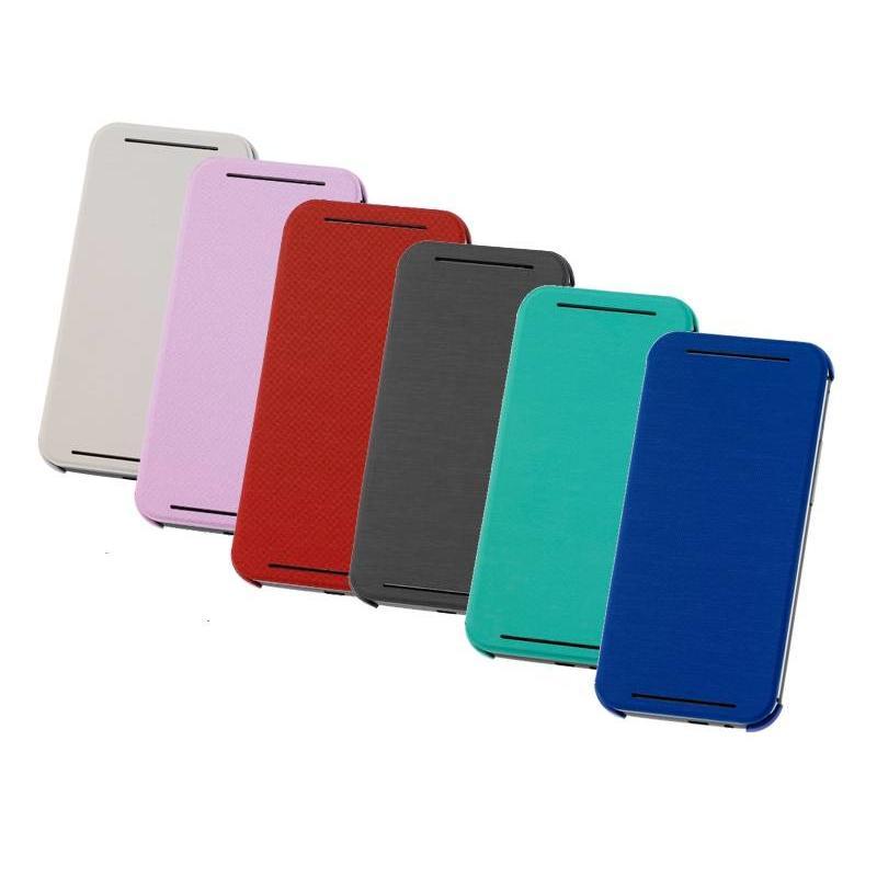 J&S Supply HTC ONE M7 Flip Case Leder