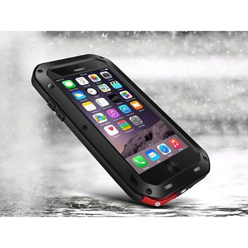 J&S Supply Love Mei Spatwaterdichte en Schokbestendige Apple iPhone 6 Plus Hoes
