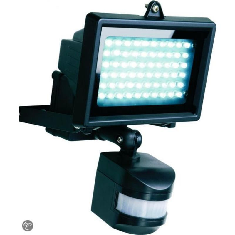 J&S Supply LED buitenlamp met sensor op Zonne-energie