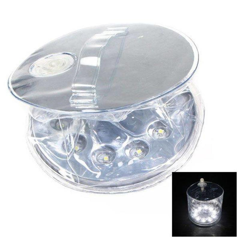 J&S Supply Opblaas lamp met zonne-energie