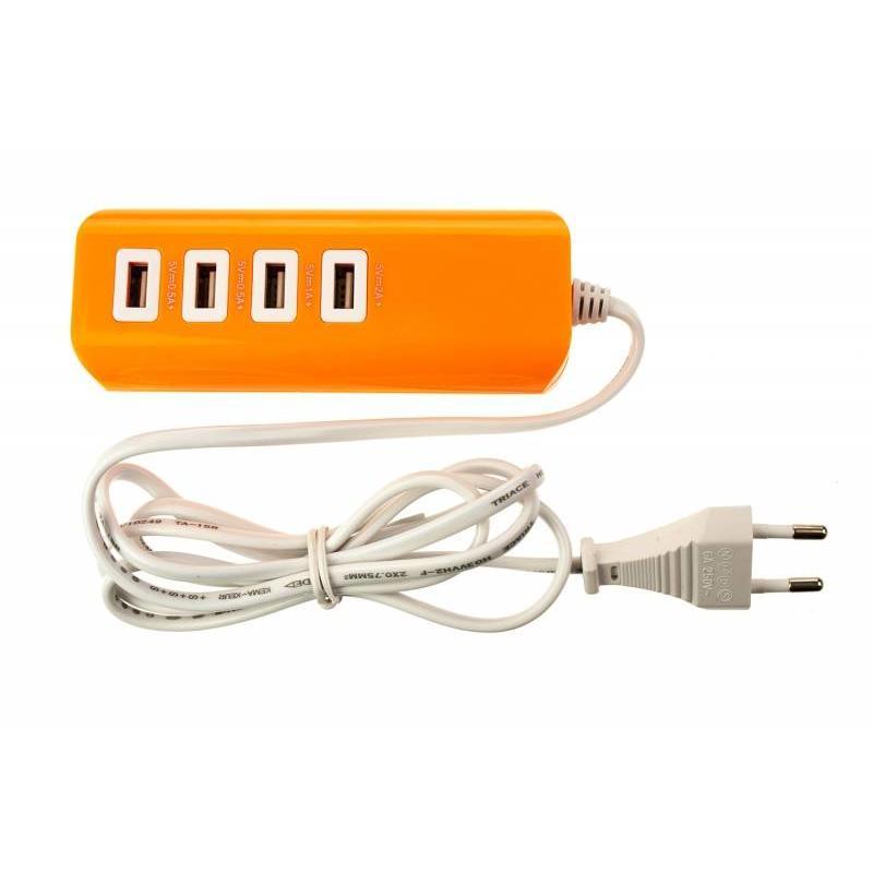 J&S Supply 4-poorts USB Lader