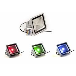 LED Schijnwerper Buitenmet Kleur