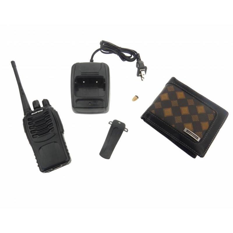 J&S Supply Spy Portemonnee Audio Receiver