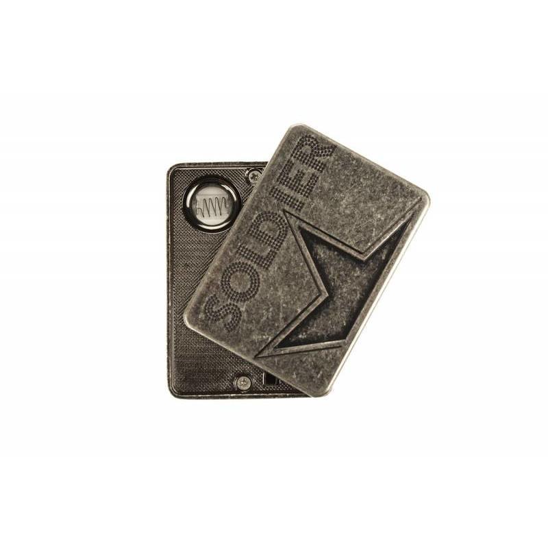 J&S Supply USB Oplaadbare Aansteker Shayu Zilver