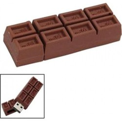 J&S Supply Chocolade Reep USB Stick 8GB en 16GB