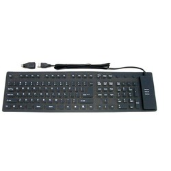 J&S Supply Oprolbaar toetsenbord
