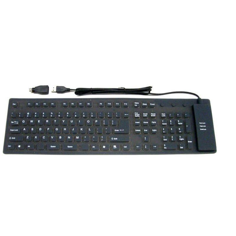 Oprolbaar toetsenbord