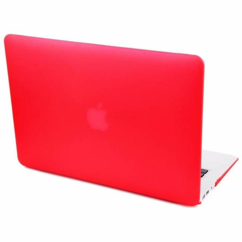 Hardshell Cover SmartShell Mat Rood voor de MacBook Air 13 inch