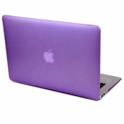 J&S Supply Hardshell Cover SmartShell Mat Paars voor de MacBook Air 13 inch