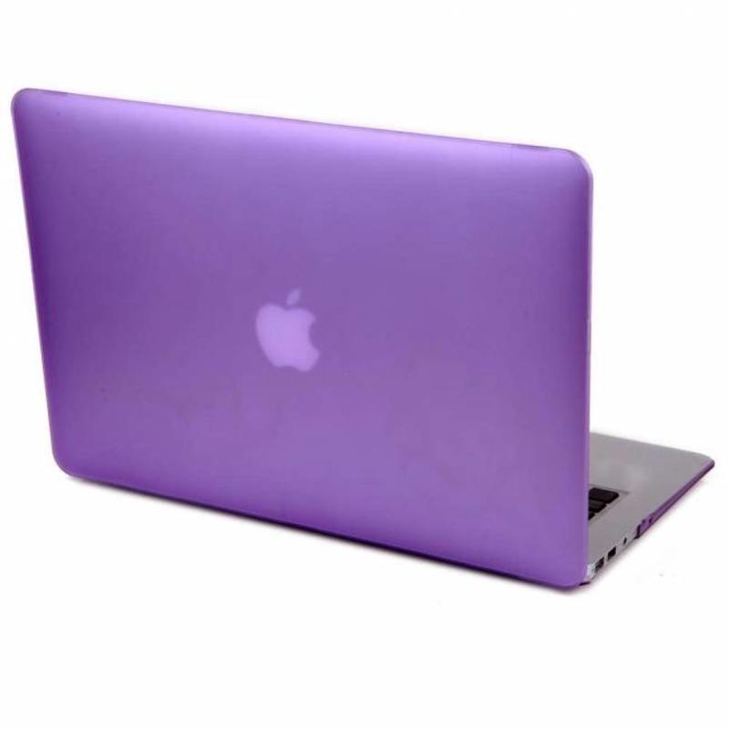 J&S Supply Hardshell Cover SmartShell Mat Paars voor de MacBook Air 13 inch