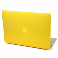 Hardshell Cover SmartShell Mat Geel voor de MacBook Air 13 inch